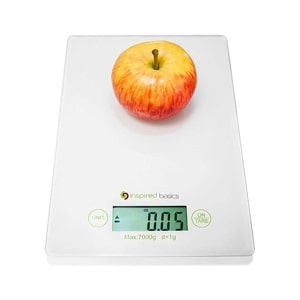 Inspired kitchen scale
