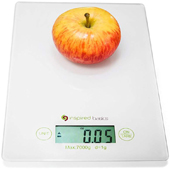 Inspired scale for food